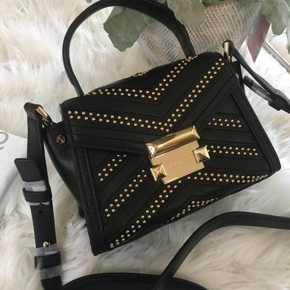 Michael Kors Handbags - Michael Kors Whitney studded mini messager bag